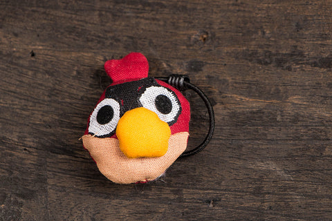 Angry Bird Rubber Band