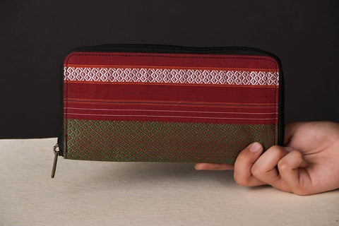 Handcrafted Special Khun Fabric Clutch Wallet