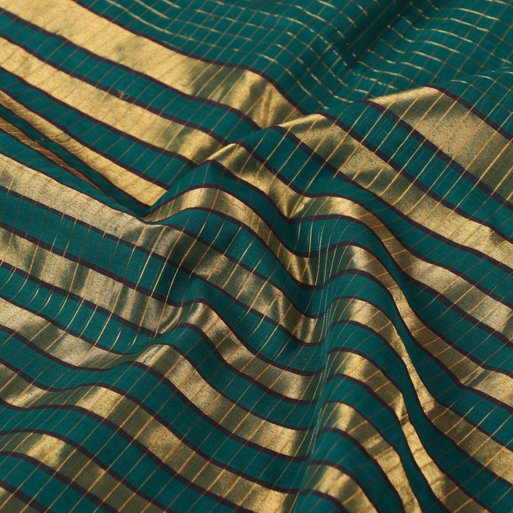 Traditional Venkatagiri Pure Handloom Cotton Zari Saree