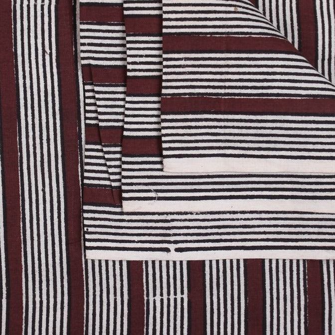 Bagru Hand Block Print Pure Cotton Natural Dyed Fabric