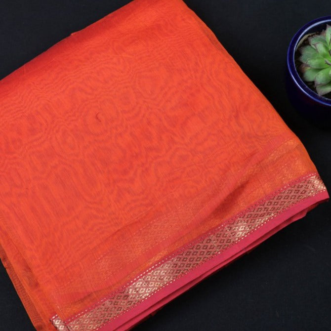 Original Mangalgiri Handloom Silk Cotton Precut Fabric