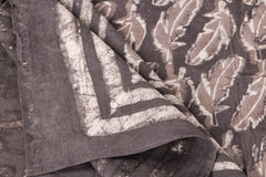 Cotton Natural Dyed Block Art Prints Double Bedcover by Bindaas Unlimited