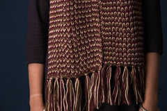 Kumaun Handknitted Woolen Muffler - Length - 70in