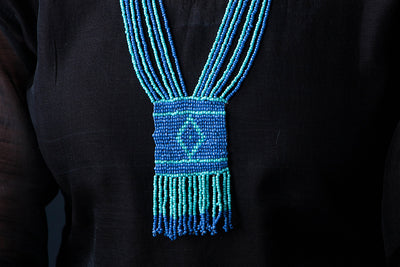 Hapur Beadwork Necklace by Aagaz