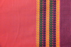 South Cotton Pre Washed Jacquard Fabric with Zari Border