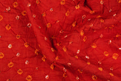 Classic Kutch Bandhani Mulmul Cotton Fabric