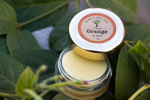 Last Forest Orange Beeswax Lip Balm - 5 gm