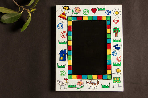 Handpainted Wooden Photo Frame