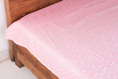 Himroo Handloom Jacquard Silk Cotton Double Bedcover