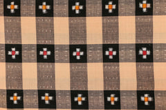 Sambalpuri Double Ikat Handloom Cotton Fabric