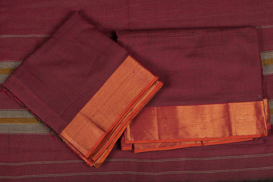 Dharwad Handloom Special Cotton 3pc Dress Material Set