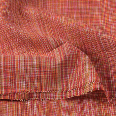 Pure Handloom Godavari Checks Cotton Fabric