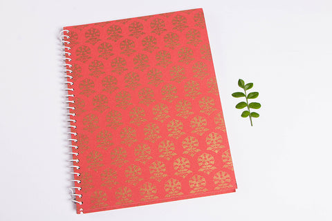 Handmade Classic Spiral Notebook (Large)