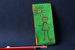 Threadwork Story Board Pencil Box - Girl