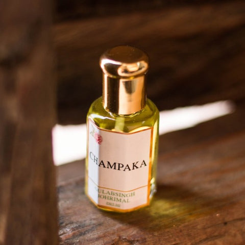 Champaka- Natural Attar Unisex Perfume Oil 10ml