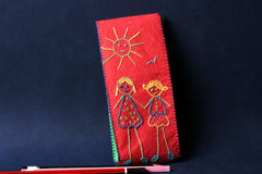 Threadwork Story Board Pencil Box - Friend