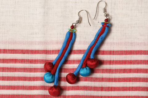Three Long Boria Earrings