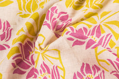 Jaipur Screen Printed Flex Cotton Fabric