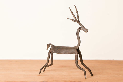 Bastar Tribal Wrought Iron Deer