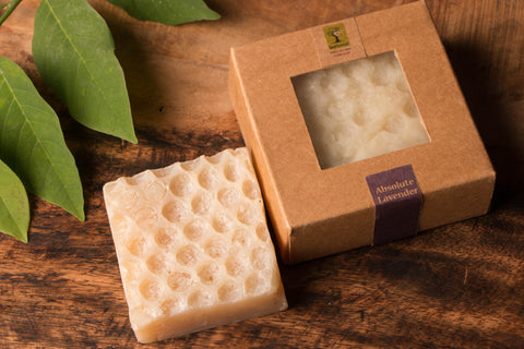 Lavender - Bee Wax Soap by Last Forest (100 gm)