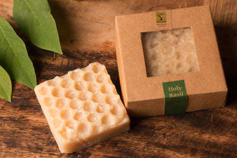 Holy Basil - Bee Wax Soap by Last Forest (100 gm)