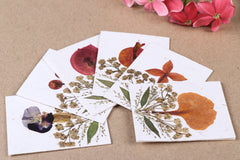 Flower Art Handmade Paper Greeting Cards (Set of 6)