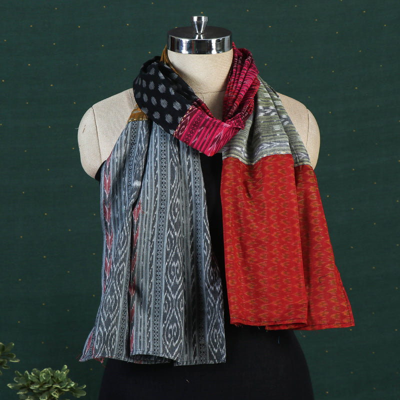 Ikat Fabart Cotton Stole by Stoles & Scarves