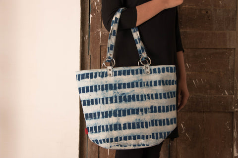 Hand Block Print Shoulder Bag