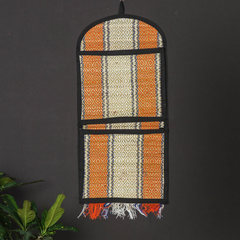 Madur Grass Wall Hanging Letter Holder - 2 pockets  (23 x 9 in)