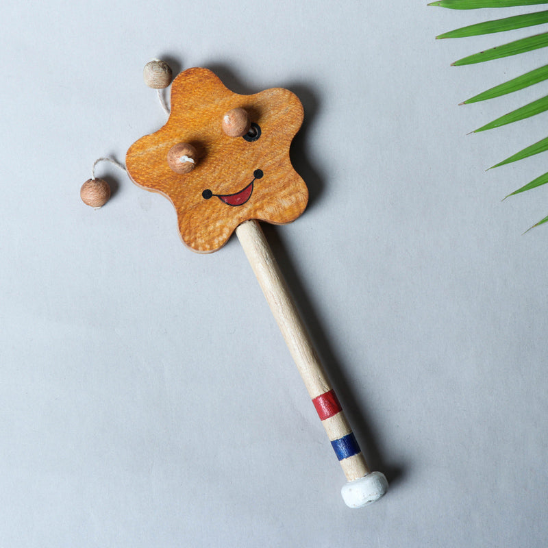 Star Rattle - Traditional Channapatna Handmade Wooden Toy