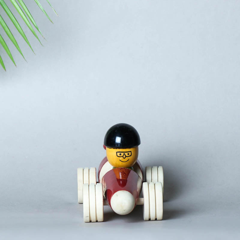 Race Car - Traditional Channapatna Handmade Wooden Toy