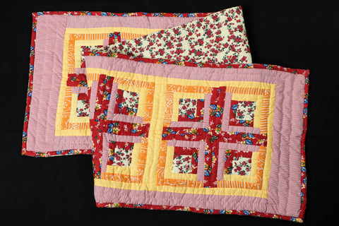 Special Applique Quilted Table Runner (72in x 16in)