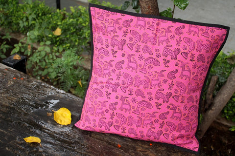Animals (water) Print Cushion Cover