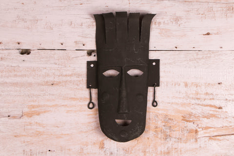 Bastar Tribal Wrought Iron Mask