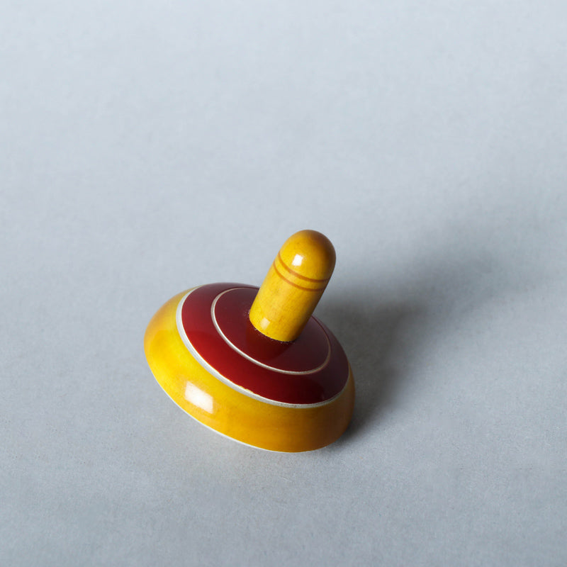 Top / Lattu - Traditional Channapatna Handmade Wooden Toy