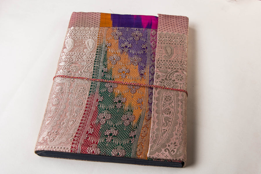 Handmade Brocade Cover Photo Album (13x10 Inches)