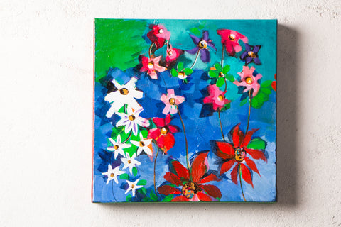 Original Acrylic Painting on Canvas by Richa's Pallete (12x12 inches, framed)