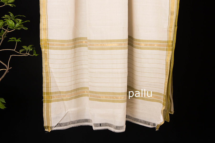 Godavari Amani Cotton Saree with Blouse by DAMA