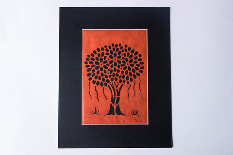 (11 x 9 inches) Sanjhi Paper Cut Artwork by Vijay Soni
