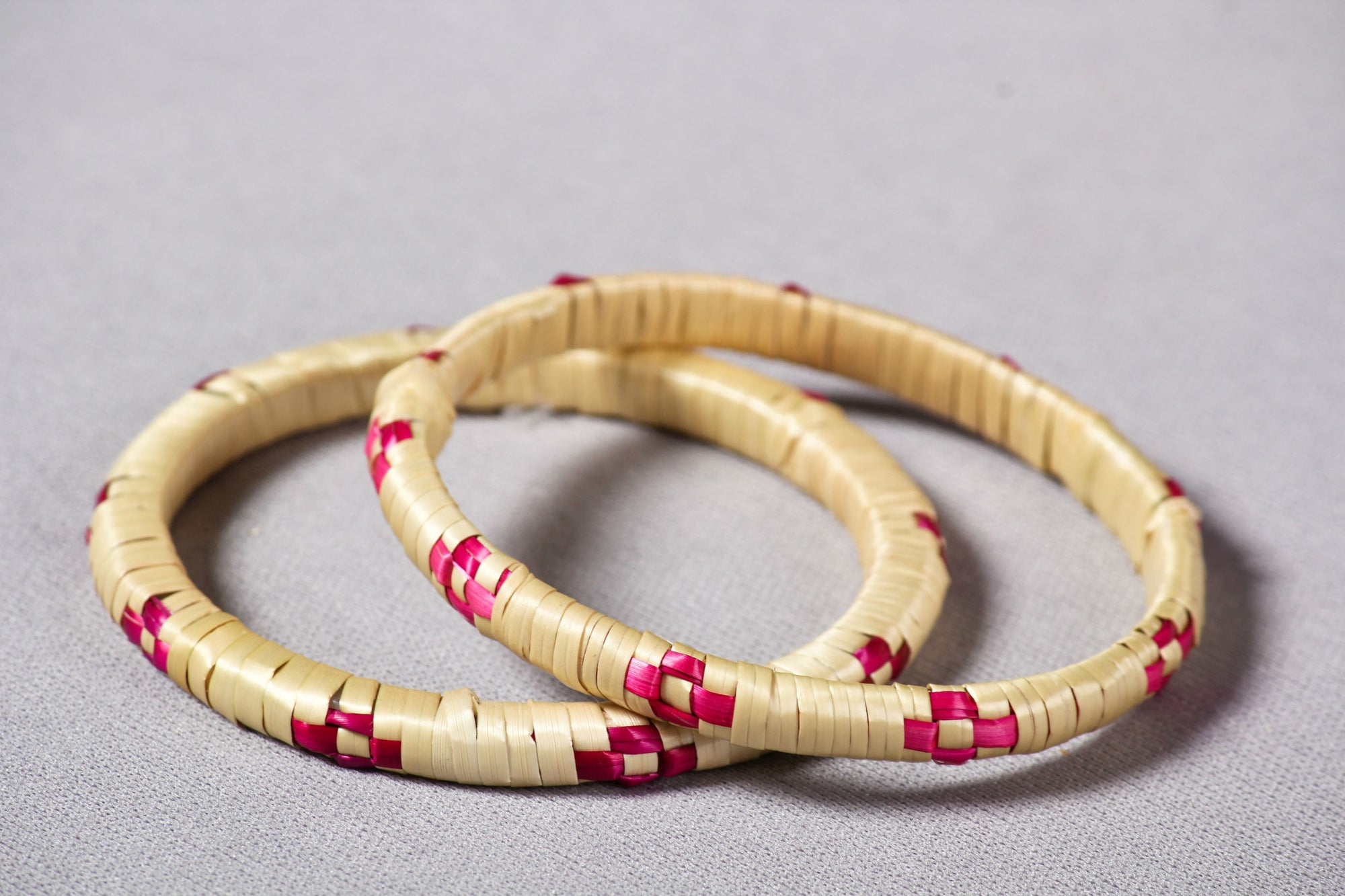 Golden Grass Bangle Set of 2