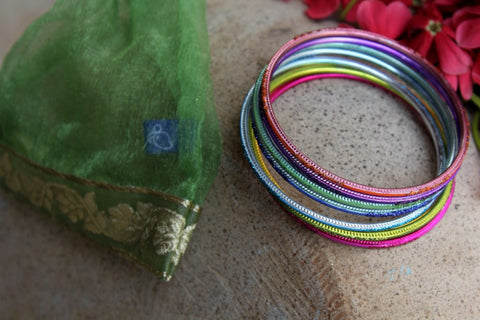 Bangles in Pouch