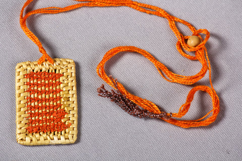 Golden Grass Necklace