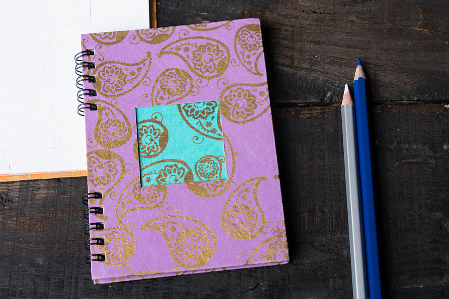 Spiral Window Notebook 5.5in x 4in