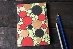 Handmade Bright Papers Notebook 7in x 5in