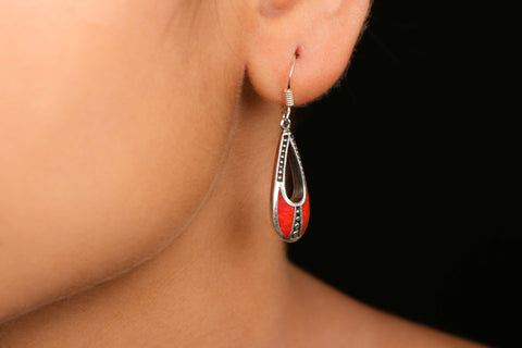 Koyal Sterling Silver Earring