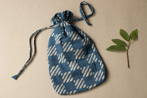Indigo Hot Water Bottle Cover