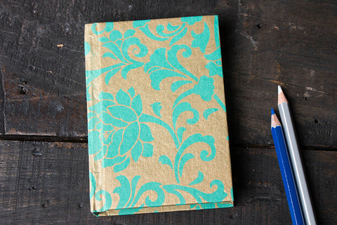 Handmade Paper Notebook 5in x 3.5in