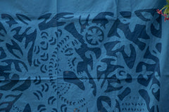 "Applique Queen Cut  Work Door Curtain  (44"" x 84"")"
