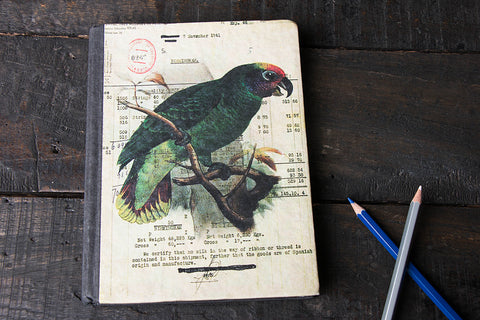 Handmade Purana Khata Notebook 8in x 6in