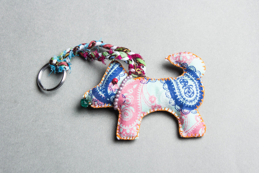 Katran Artwork Dog Keychain
